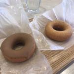 フロレスタ - 料理写真:プレーンドーナツ、塩キャラメル