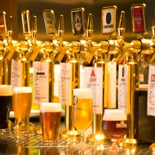 【充実のビール飲み放題】東京発!クラフトビール三種も飲み放題
