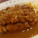 上等カレー - 『カツカレー』(税込み1000円)