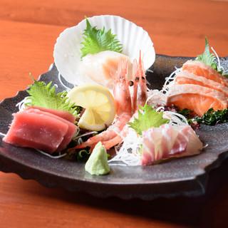 *鮮度にこだわる*やっぱり小樽の魚介は美味しい◎【お造り】
