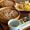 そば亭山彼方 - 料理写真:天せいろ二枚