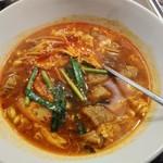 燦々亭 - カルビスープ