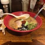 一風堂 - 味噌赤丸(860円)