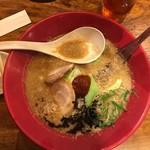 一風堂 - コクのあるスープ