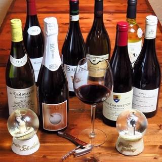 優しい味わいの自然派ワインにこだわる!