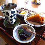 峠の茶店 紋屋 - 料理写真:紋屋セット 500円