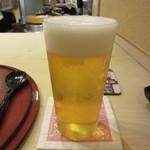 芝濱 - 生ビール 800円