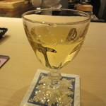 芝濱 - グラスワイン(白)1000円