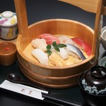 れすとらん杉並 - にぎり寿司御膳 2480円