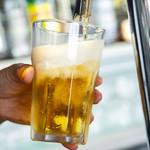 メルシーキャンプ - 自慢の生ビールには「ハイネケン」と。