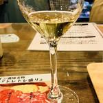 トレイントレイン - ワイングラスにコレだけの量が25ml