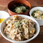きんぐ食堂 - ガリ焼き丼