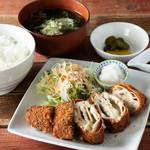 きんぐ食堂 - ガリガリ定食