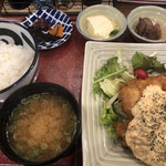 104499840 - チキン南蛮定食(ご飯少なめ)