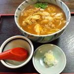 慈泉庵水戸屋 - 料理写真:カレーそば 770円