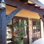サンタムール - お店の入り口w