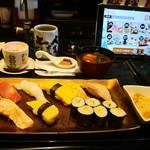 にぎり長次郎 - 料理写真:お昼のおもてなし「竹」