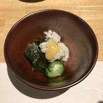 和食と炭火焼 三代目 うな衛門 - '19/03/26 鰻の湯引き