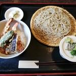十得 - 料理写真:天丼セット1,300円(税込)