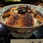 104509982 - 肝入り鰻丼