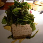 クルックキッチン - 鶏肉と羽根さんのテリーヌ