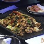 104511802 - みかわ豚と青梗菜の回鍋肉