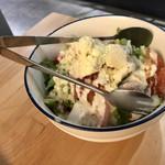 104512066 - 有機野菜とコンビーフの濃厚シーザーサラダ