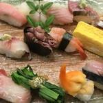 寿司吟 - お任せ握り