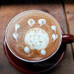 nicol cafe&zakka - ヘーゼルナッツラテ