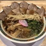 肉そば麺達 - ストレート中細麺