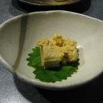 やきとり谷地坊主 - みそ豆腐