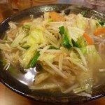 京橋タンメン - タンメン野菜大盛り