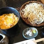 重吉 - 料理写真:お得な丼とのセット❗
