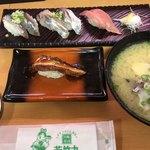 回転寿司 若竹丸 - 料理写真:これだけ注文は853円
