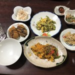 民宿うるま家 - 料理写真:2019年3月23日  夕食