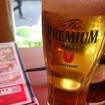 築地銀だこ 大衆酒場 - 生ビール