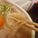 いちげん - 麺アップ