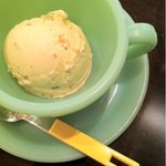 ファイヤーキング カフェ - 塩キャラメルアイスクリーム