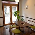 チーズカフェ アルピンヌ - 店内3