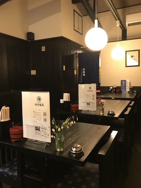 うどん居酒屋 海士麺蔵 - 2Fテーブル席風景(2019.3.28)