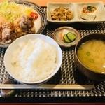 とりまんま - 地鶏の唐揚げ定食(870円)