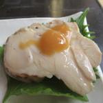 104546880 - 「鶏肉の酢味噌かけ」