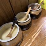 笑の家 - にんにく、生姜、豆板醤