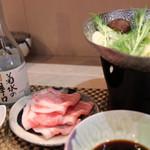 和華 - 豚肉のしゃぶしゃぶ小鍋