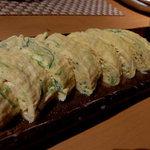 料理屋 茶坊主 - 葱入り出汁巻卵