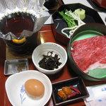 レストランハイウェー - 近江牛のすき焼き