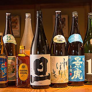 ビールだけでなく、焼酎やワイン、豊富なカクテルなどもご用意!