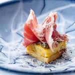 レストラン ラッセ - 料理写真:パルマ産黒豚の生ハム