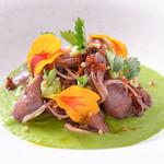 レストラン アベー - 料理写真:鳥取のホタルイカの前菜
