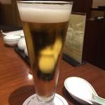 中国料理 桃煌 - この一杯でとても良い気分